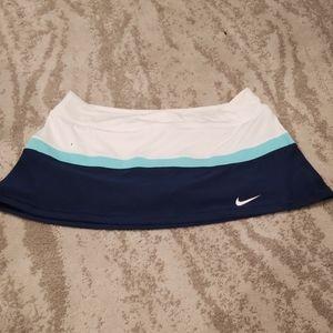 👚Nike Skirt, Navy blue and White